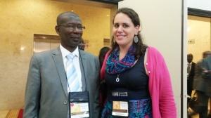 M. Le Ministre de L'Enseignement Superieure et de la Recherche du Senegal Mary Teuw Niane
