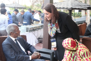 Kofi Annan et moi