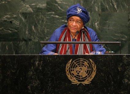Ellen Sirleaf Johnson- Liberia